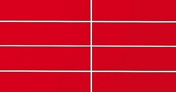 Красные 30x7,5 см