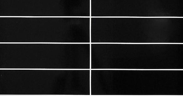 Черные 30x7,5 см